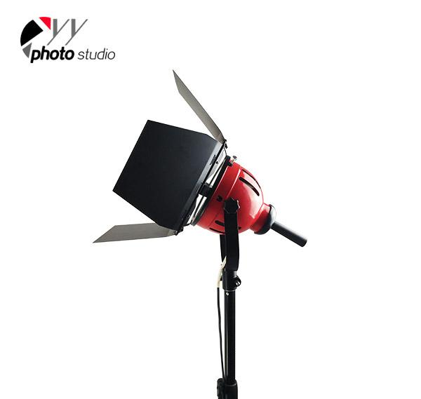 800 Watt Studio Red Head Light without Dimmer YL111-2