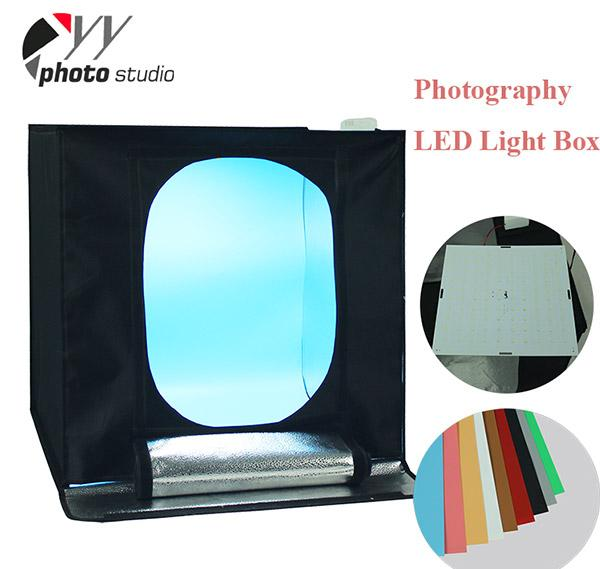 Photo Studio LED Easy-Carry Spuare Light Tent In-A-Box YA441