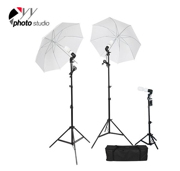Photo Studio Umbrella Continuous Lighting Kit, KIT 002