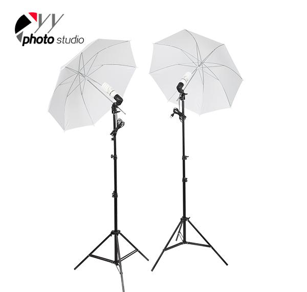 Photo Studio Soft Umbrella Continuous Lighting Kit, KIT 003