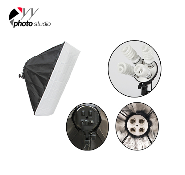 Photo Studio Video Continuous Lighting Kit, KIT 005