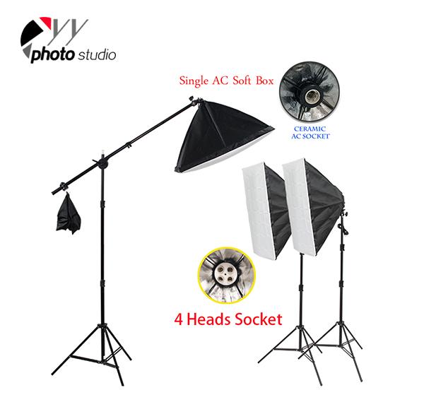 Photo Studio Video Continuous Lighting Kit, KIT 006