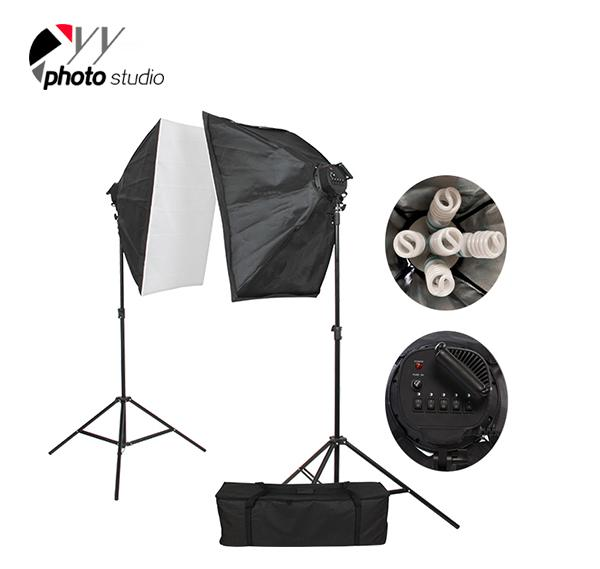 Photo Studio Video Softbox Continuous Lighting Kit, KIT 011