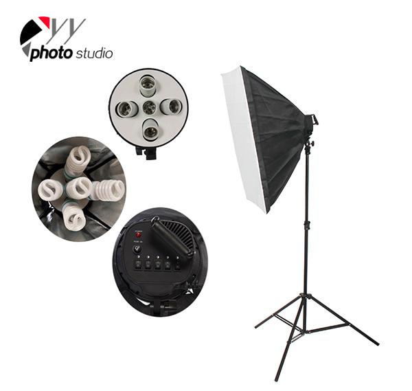 Photo Studio Video Softbox Continuous Lighting Kit, KIT 011
