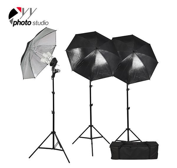 Photo Studio Umbrella Continuous Lighting Kit, KIT 013