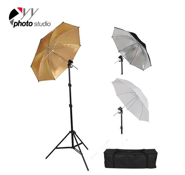 Photo Studio Umbrella Continuous Lighting Kit, KIT 014
