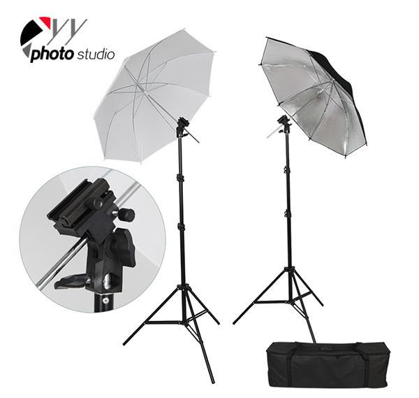 Photo Studio Umbrella Continuous Lighting Kit, KIT 015