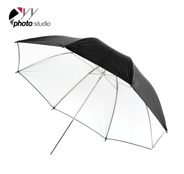 Studio White and Black Reflective Photo Umbrella YU305