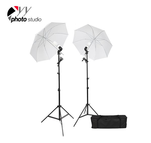 Photo Studio Umbrella Continuous Lighting Kit, KIT 030
