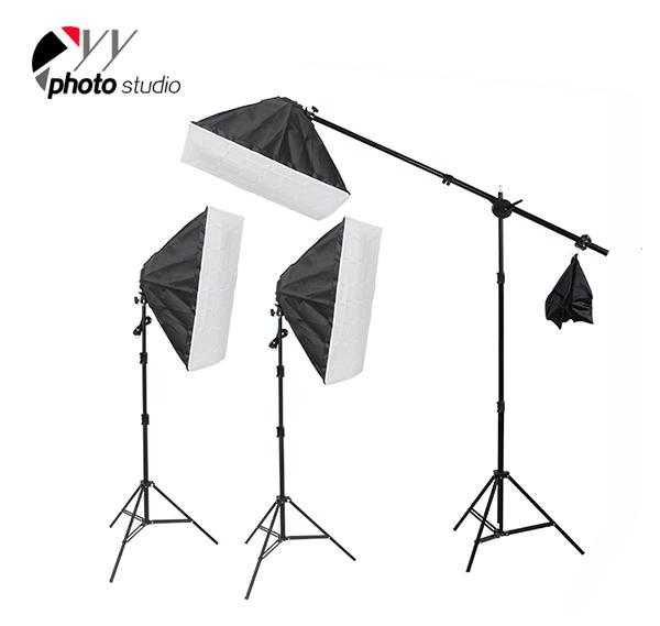 Photo Studio Video Softbox Continuous Lighting Kit, KIT 039