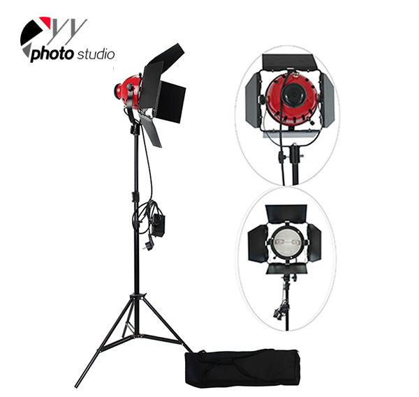 800W Photo Studio Video Red Head Lighting Kit, KIT 043