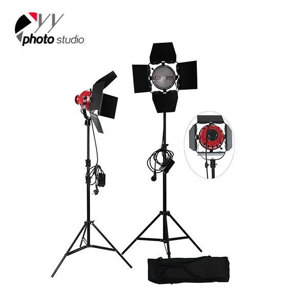 1600W Photo Studio Video Red Head Lighting Kit, KIT 044