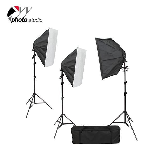 Photo Studio Video Softbox Continuous Lighting Kit, KIT 046