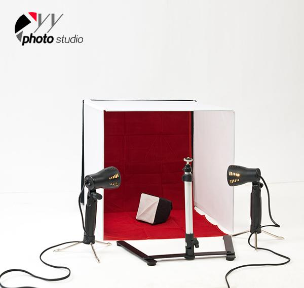 Table Top Photo Studio Lighting Tent Kit, KIT 049