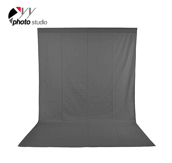 Grey Muslin Photography Backdrop