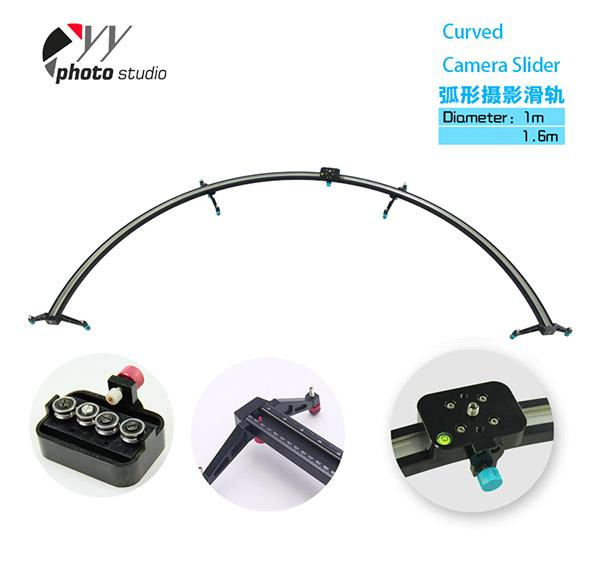 Curved Camera Video Track Dolly Slider, Video Stabilizer YCS6004