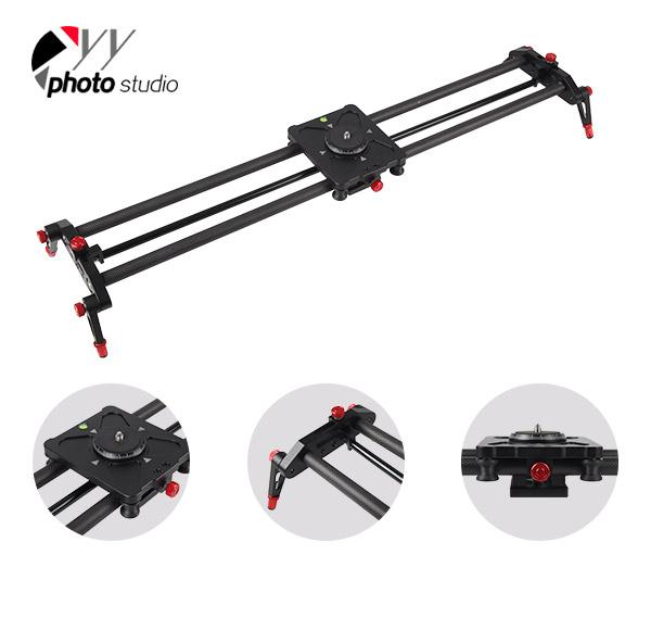 Carbon Fiber Parallax DSLR Camera Slider/Video Stabilizer Dolly Track YCS6006