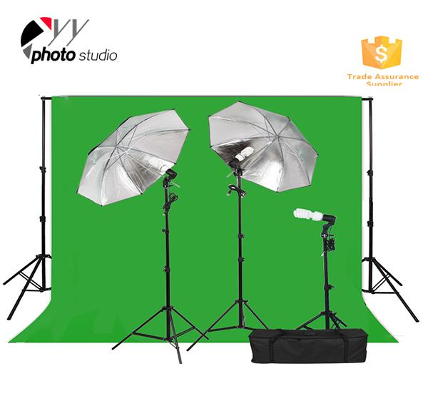 Photo Studio Umbrella Continuous Lighting Kit with Support System, KIT 035