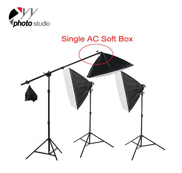 Photo Studio Video Softbox Continuous Lighting Kit with Support System, KIT 037