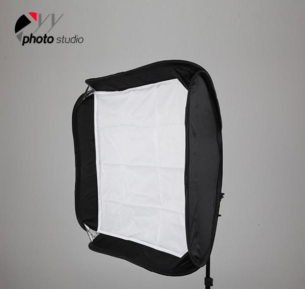 Foldable Speedlite Softbox with Hot Shoe Mount YB201