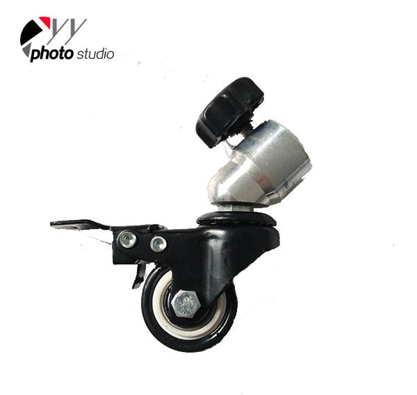 Wheels for Light Stand (3pcs/lot) with Brake YA4370-2