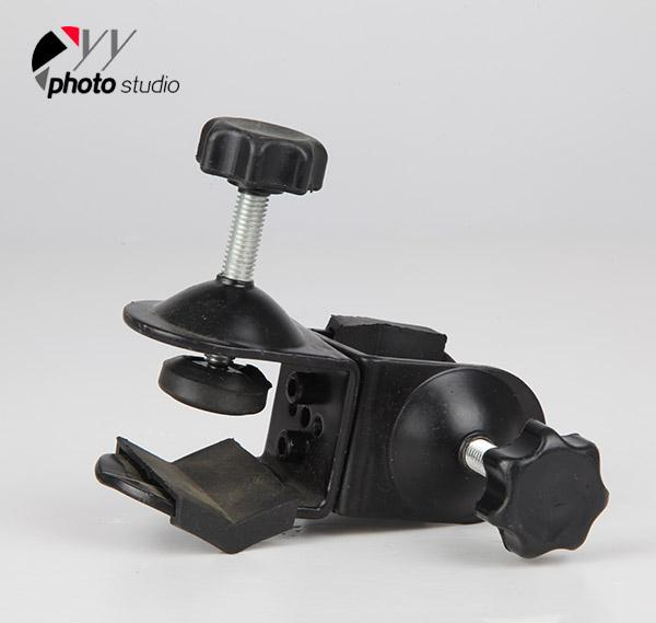 Photo Studio Accessory Double C-Clamp for Boom Arm And Light Stand YA5026