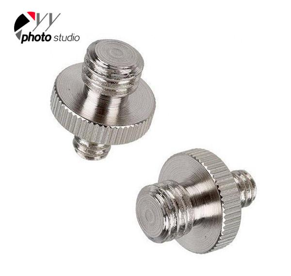 1/4″ to 3/8″ Male Threaded Adapter for Camera, Tripod, Monopod YA5016