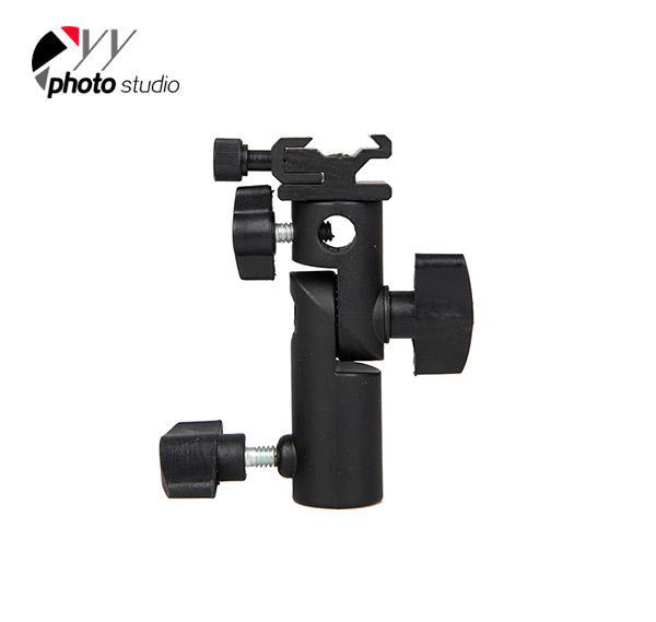 Photo Studio Flash/ Umbrella Bracket Type E for Speedlight or Flashgun YA421