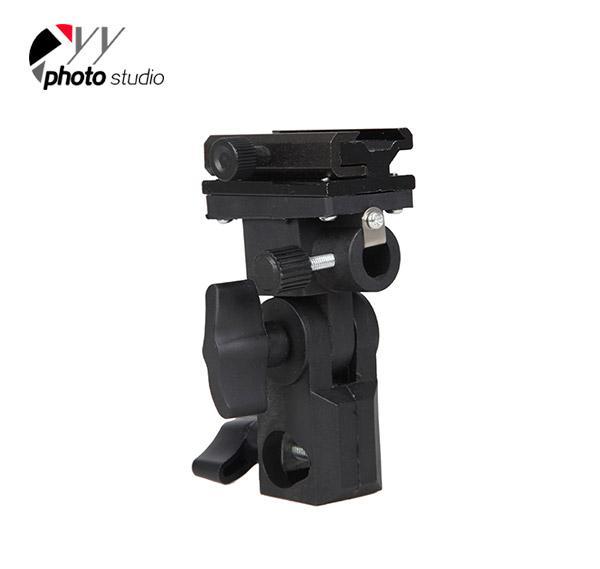 Photo Studio Flash/ Umbrella Bracket Type B for Speedlight or Flashgun YA423