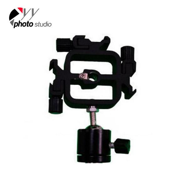 3 in1 All-metal Tri-Hot Shoe Mount Adapter with 1/4
