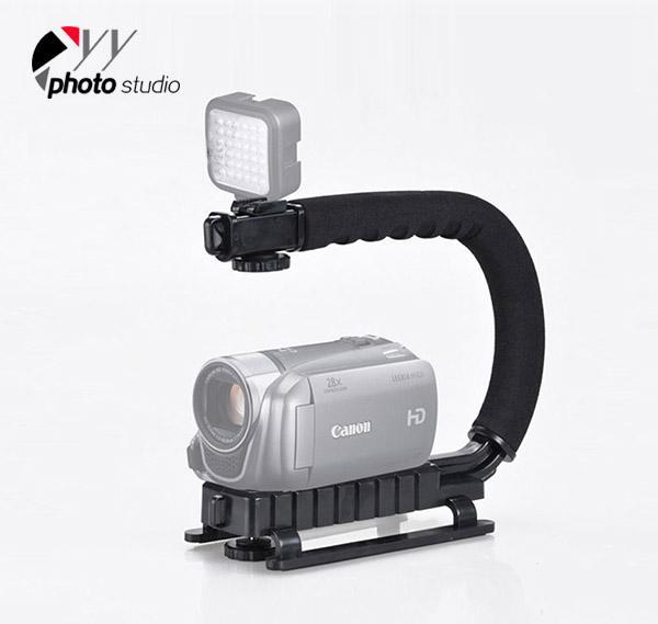Video Digital Camera DSLR Handheld Grip Mount Action Stabilizer YA427