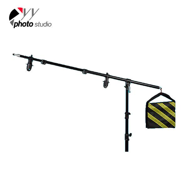 Photo Studio 2 in 1 Boom Arm with Reflector Holder YS516