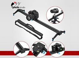The Carbon Fiber DSLR Camera Slider And Durable Photo Studio Backdrop